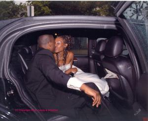 The Limo Kiss
