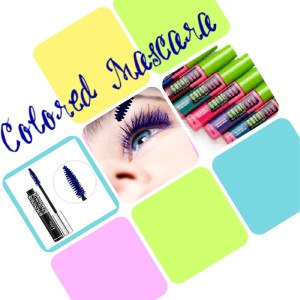 colored mascara